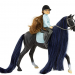 Jet & Charlotte | Horse and Rider Set |