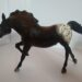 Running Stallion Black Appaloosa